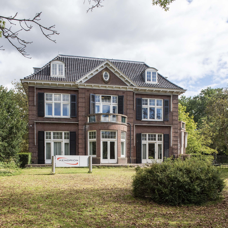 Oude Dreesmann-villa voorzien van hightech voorzieningen